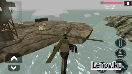Gunship Heli Air Attack v 1.02 (Mod Money)