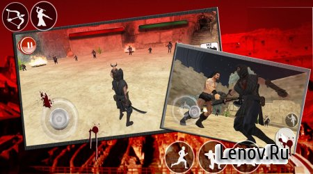 Ninja Samurai Sparta War Arena v 2.6