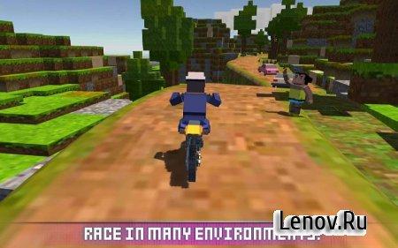 Blocky Moto Bike SIM v 1.7 (Mod Money)