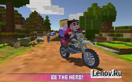 Blocky Moto Bike SIM v 1.7 (Mod Money)
