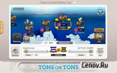 Battle Champs (обновлено v 3.1.14) Мод (Leader have Massive damage/Enemy not attack)