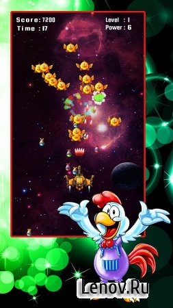 Chicken Shooter: Space Shooting v 2.1 (Mod Money)