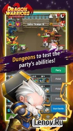 Dragon Warriors : Idle RPG v 1.7.0 (Mod Money)