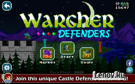 Warcher Defenders v 1.1 (Mod Money)