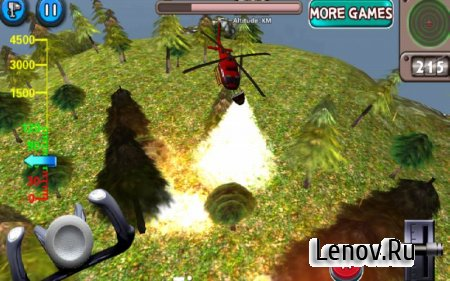 Great Heroes - Fire Helicopter v 1.1 Мод (Unlocked)