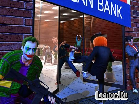 Halloween Gangsters Robbery v 1.3 Мод (Unlocked)
