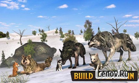 Wolf Life Simulation 2017 v 1.0 (Full) Мод (Gems/No Hunger/max Health)