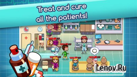 Hospital Dash - Healthcare Time Management Game v 1.0.20 Мод (gold coins/diamonds)