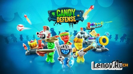 Sour Patch Kids: Candy Defense (обновлено v 1.37) (Mod Money)