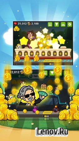 The rich king (Gold Clicker) v 18 (Mod Money)