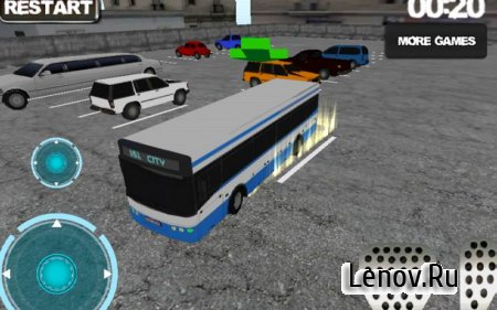 Bus driver: Parking simulator v 1.0 Мод (Unlocked)