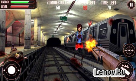 Subway Zombie Attack 3D v 1.2 (Mod Money)
