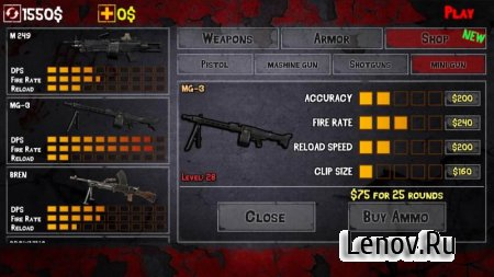 Clash of Zombie : Dead Fight v 1.0 (Mod Money)