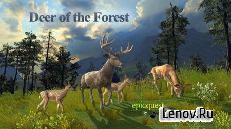 Deer of the Forest v 1.0 (Modify a lot of skill points and food)