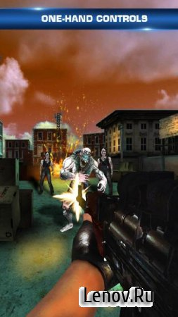 Zombie Frontier 3D v 1.4 Мод (Many coins/Open all levels/No advertising)