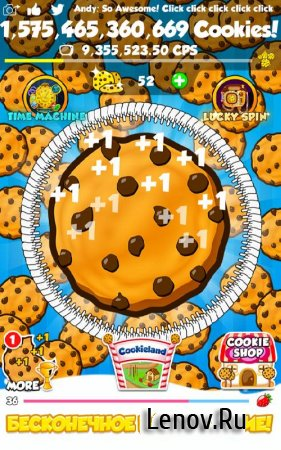 Cookie Clickers 2 v 1.14.10 Мод (Cookies/Gold Cookies)
