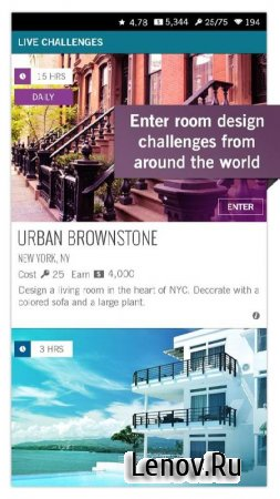 Design Home (обновлено v 1.08.05) Мод (Unlimited Cash/Diamonds/Keys)