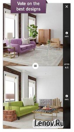 Design Home v 1.40.026 Мод (Unlimited Cash/Diamonds/Keys)