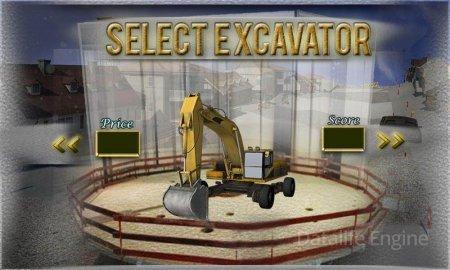 Excavator Snow Plow Simulator v 1.2.3 (Mod Money/Unlock)