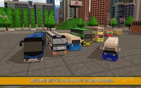 Coach Bus Simulator Craft 2017 v 1.4 (Mod Money)