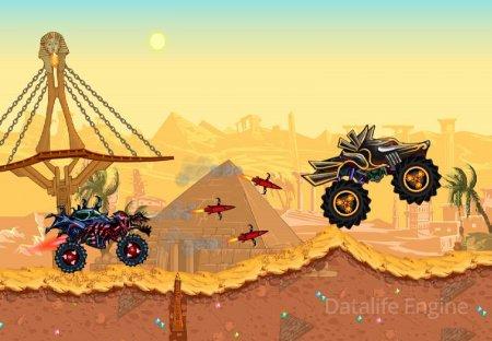 Mad Truck - Hill Climb Racing v 3.0 (Infinite Coins/God Mode)