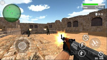 Counter Terrorist Shoot v 2.9 Мод (Infinite coins/Infinite ammo/Running Speed)