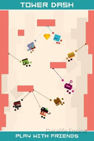 Tower Dash (обновлено v 1.2) (Mod Money)