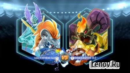BEYBLADE BURST app v 6.3.0 Мод (Unlimited Coins/Parts Unlocked)
