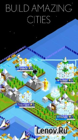 The Battle of Polytopia v Rainbow A Мод (Unlocked)