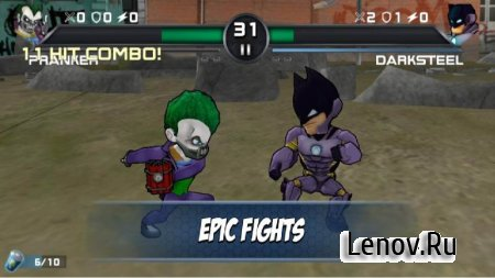 Superheros 3 Fighting Games (обновлено v 1.4.1) (Mod Money)