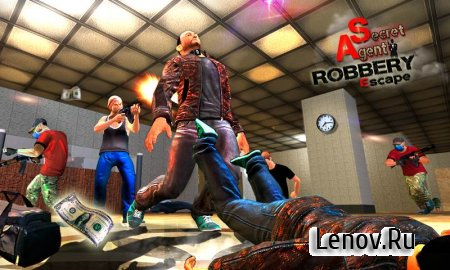 Secret Agent Robbery Escape v 1.2 (Mod Money/Unlock)