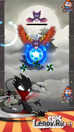 Stickman Adventures: Dash Jump v 1.1.3 (Mod Money)