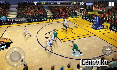 Fanatical Basketball (обновлено v 1.0.7) (Mod Money)