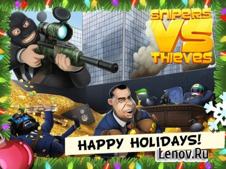 Snipers vs Thieves v 2.5.29535 Мод (Infinite Ammo/Rapid Fire & More)