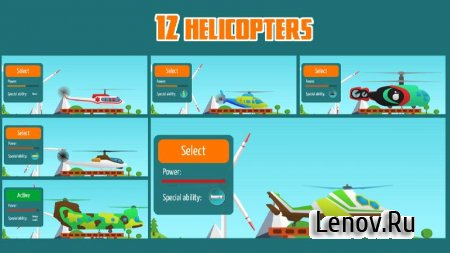 Go Helicopter v 2.62 (Mod Money)