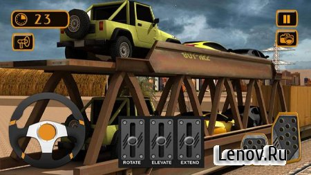 Train Cargo Crane Simulator 3D v 1.0 Мод (Unlocked)