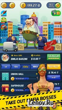 Tap Mafia - Idle Clicker v 1.74 (Mod Money)