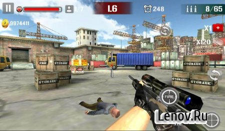 Sniper Shoot Fire War v 1.2.5 (Mod Money)