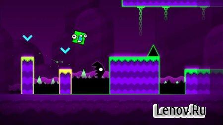 Скачать взломанную игру Geometry Dash World (обновлено v 1.03) Mod (Unlocked)
