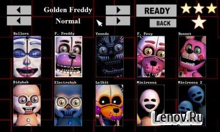 Five Nights at Freddy's: SL (обновлено v 1.2) Mod (Unlocked)