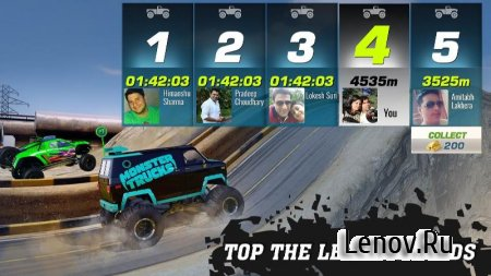 Monster Truck Racing v 2.8.0 Мод (много денег)