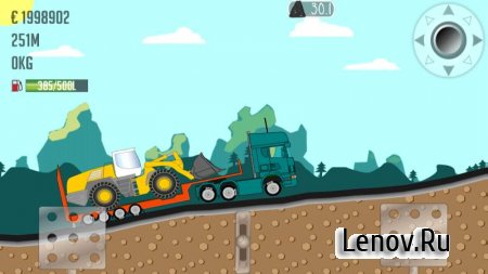 Trucker Joe v 0.1.54 Мод (много денег)