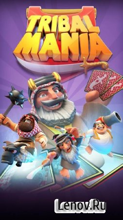 Tribal Mania v 1.7 Мод (много денег)