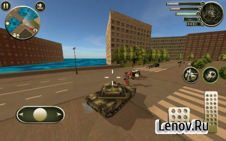 Tank Robot v 1.0 Мод (skill points and levels)