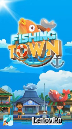 Fishing Town: 3D Fish Angler & Building Game 2020 v 1.0.5 (Mod Money)