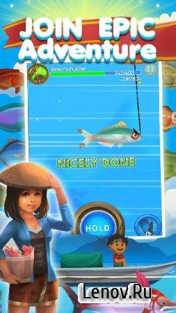 Fishing Town v 1.0.9 (Mod Money)