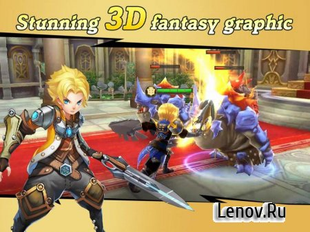 Final Clash - 3D FANTASY MMORPG (обновлено v 1.17.9) (High damage/God mod)