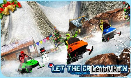Snowmobile Crash Derby 3D v 1.1 (Mod Money)