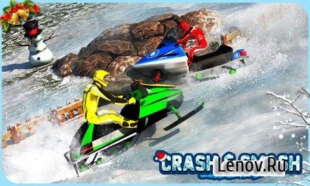 Snowmobile Crash Derby 3D v 1.1 (Mod Money)
