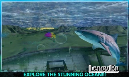 Angry Sea White Shark Revenge v 1.0.3 Мод (all levels unlocked)